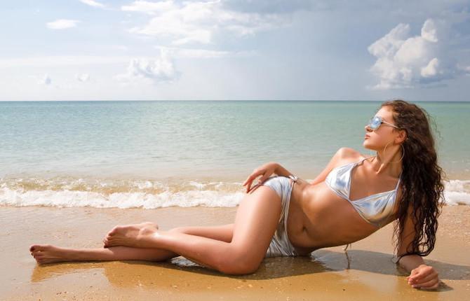 Фотосессия на песке.