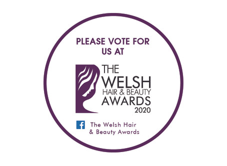Vote for us at the Welsh Hair and Beauty Awards 2020