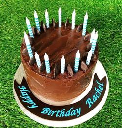 #chocolate #birthday #mudcake #yum #15th