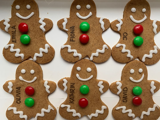 PERSONALISED GINGERBREADS