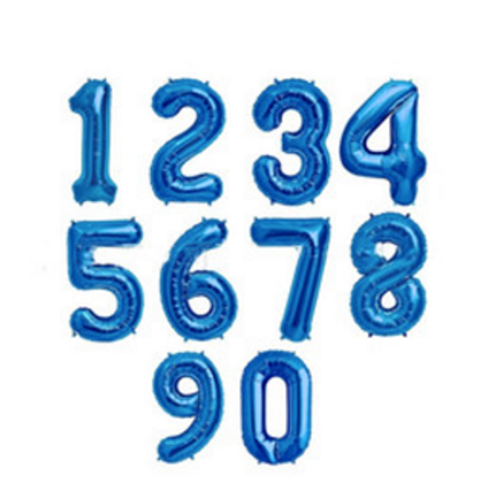 BLUE NUMBERS