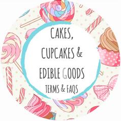 CAKES, CUPCAKES & EDIBLES