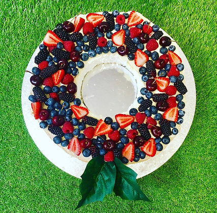 A Berry Christmas Wreath