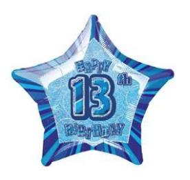 BLUE GLITZ STARS 13th-70th