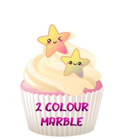 2 Colour Marble