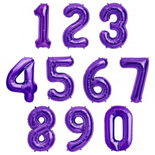 PURPLE NUMBERS
