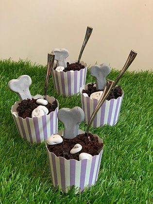 GRAVEYARD BROWNIE CUPS