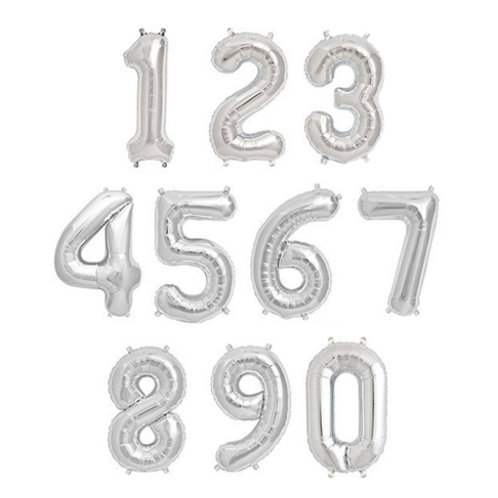SILVER NUMBERS