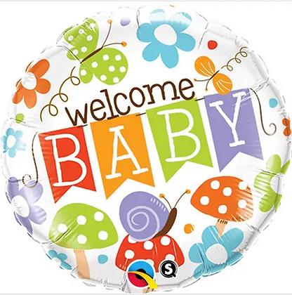 GARDEN WELCOME BABY