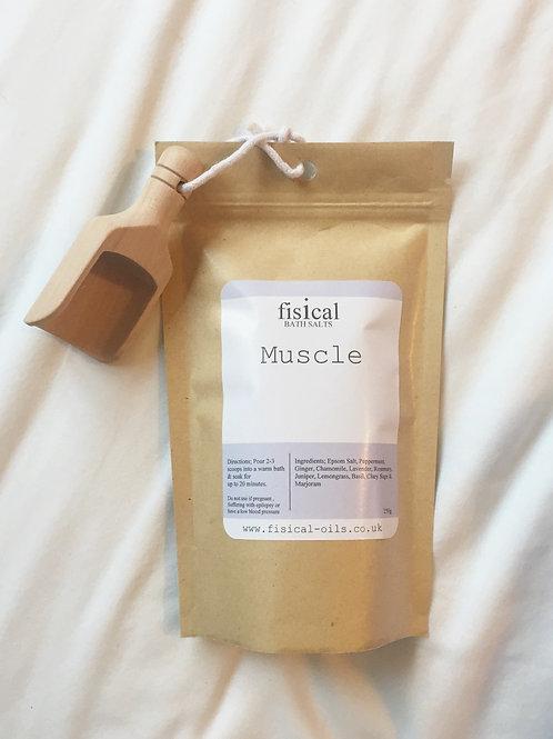Muscle bath salts