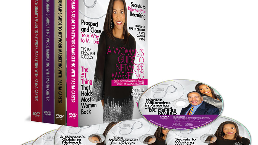 A Woman's Guide To Network Marketing DVD/CD