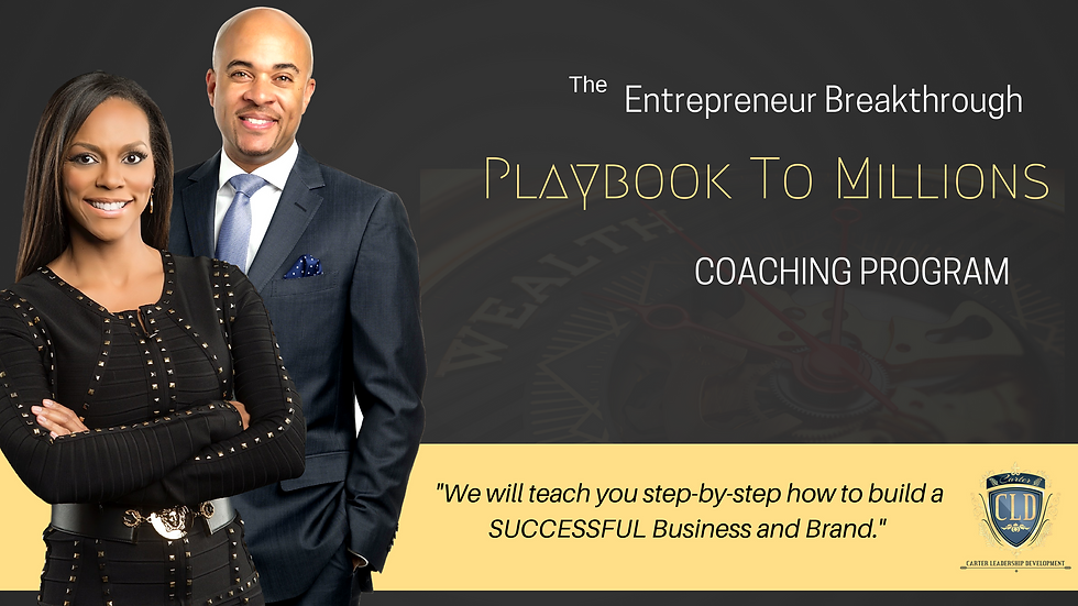 Entrepreneur Breakthrough Coaching
