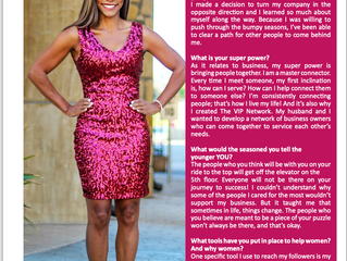 Formidable Woman Magazine Feature