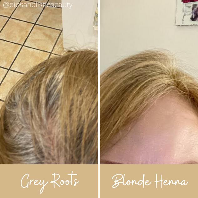 Blonde Henna