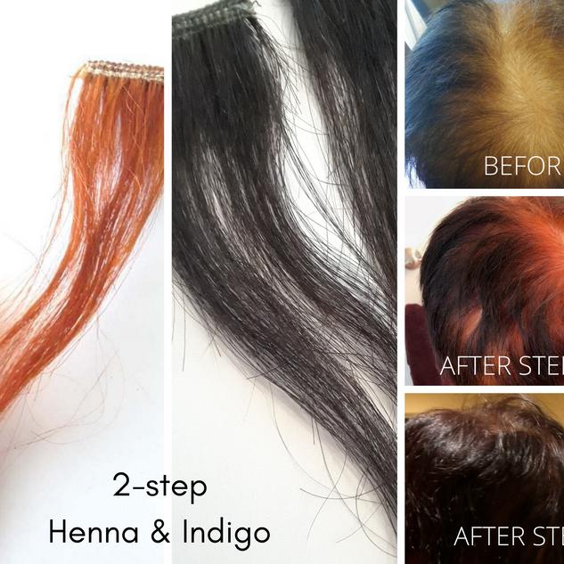 Black Hair Dye Henna
