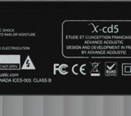 Advance Paris XCD5