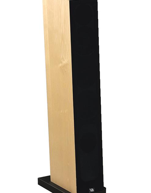Courbet N°5 bois clair avec le cache