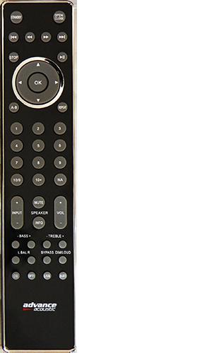 Advance Paris XCD5 remote