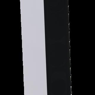Courbet N°7 blanc satiné  avec le cache