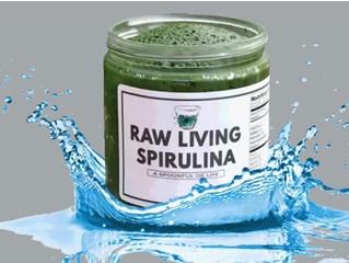 Raw Living Spirulina