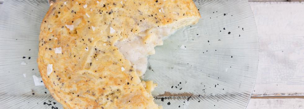 La famosa tortilla trufada