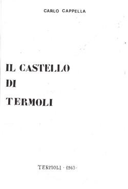 IL CASTELLO DI TERMOLI - 1963