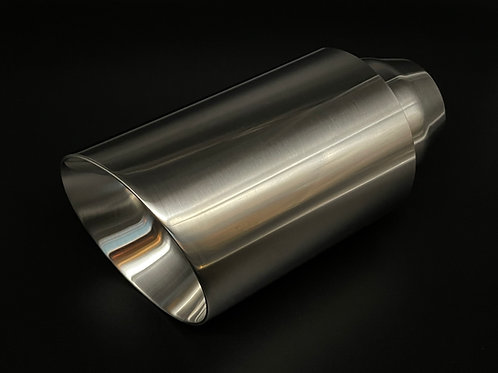 """4"""" Slash Cut Stainless Exhaust Tip"""