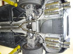 BMX M5 exhaust