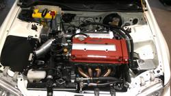 "CRX 3"" Carbon Heat shield"