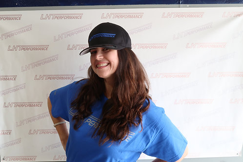 LHT Hat- Black Blue Logo