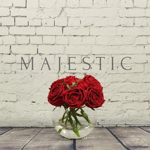Букет из роз в вазе / Rose bouquet in vase