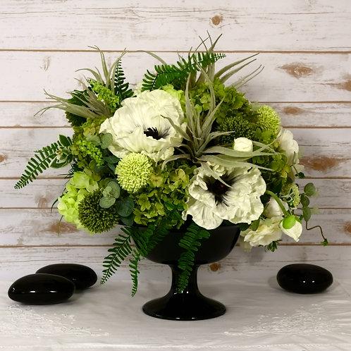Большая цветочная композиция - Маки / Large Poppy flower arrangement