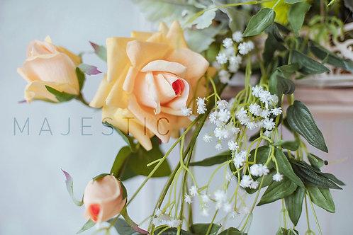 Роза Чайная - 3 бутона  / Tea Rose - 3 buds