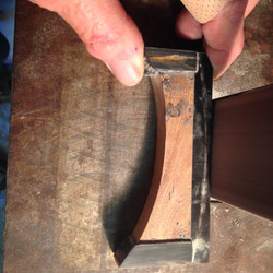 Olive Wood/Buffalo Horn Handle