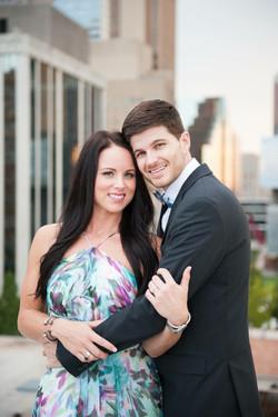 Taylor Barton and Megan VinZant