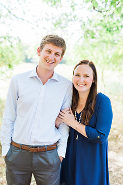 David Broussard and Claire Oltean