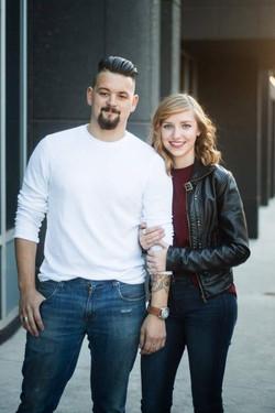 Tyler Martin and Emily Eischen
