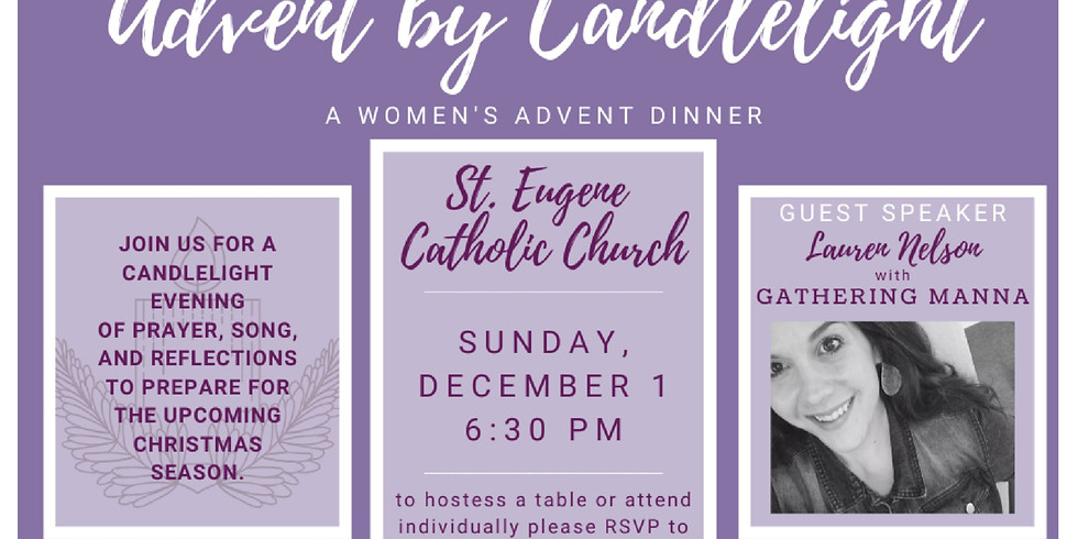 Advent by Candlelight - A Women's Advent Dinner