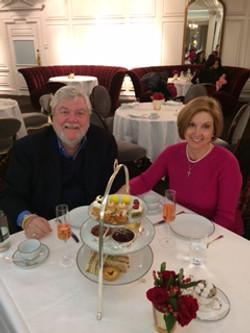 Gene Anderson and Gloria Pantzis