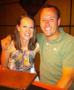 Zac Harlow and Sarah Thompson