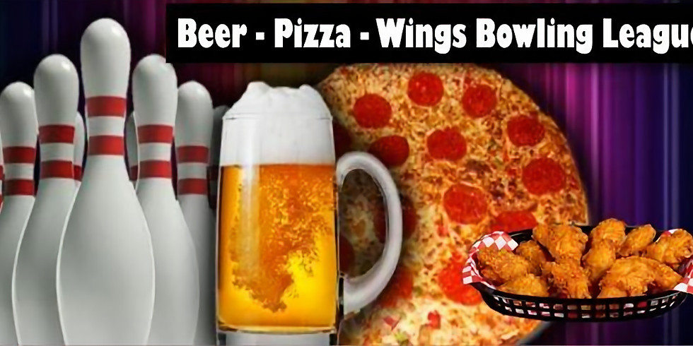Beer, Pizza, & Wings Bowling League