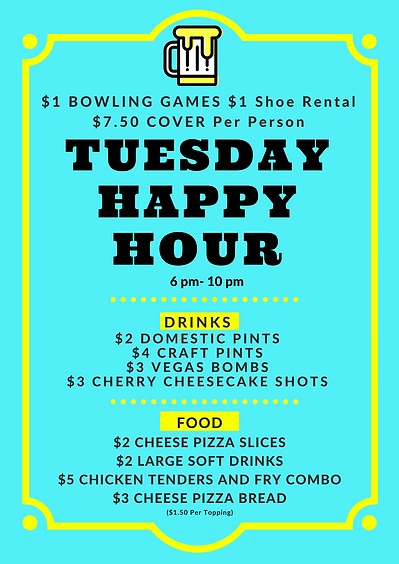 Teal Bordered Happy Hour Poster.png
