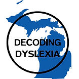 Decoding Dyslexia Michigan Logo