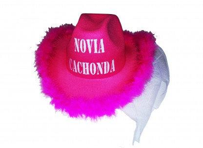 GORRO NOVIA CACHONDA