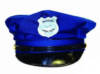 GORRO POLICIA AZUL