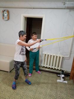 занимаемся спортом!!)))