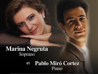 Récital de chant et piano | 12 novembre 2016 | Centre Leonardo Da Vinci, Montréal QC / Canada