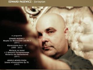 "Edward Pasewicz & Arnold Mendelssohn | 03.IV.2012 | Dom Kultury ""Podgórze"", Kraków - Polska"