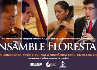 Recital de música de cámara | 6 de junio 2019 | Sala Sinfónica, Complejo Cultural Universitario BUAP