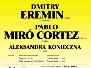 Cello Recital | Dmitrij Erëmin & Pablo Miró Cortez | 07.09.2009 | KATOWICE, Studio Koncertowe Po
